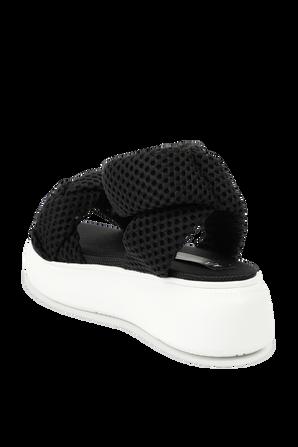 Summer Sandals With Platform in Black ARMANI EXCHANGE