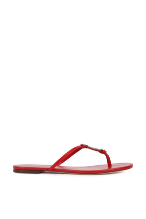 Miller Knotted Sandals in Red TORY BURCH