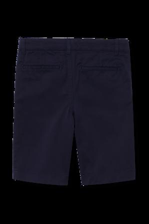 גילאי 4-12 מכנסי צ'ינו בכחול נייבי LACOSTE KIDS
