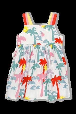 גילאי 3-36 חודשים שמלה בהדפס פרחוני STELLA McCARTNEY KIDS