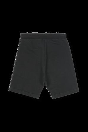 גילאי 4-16 מכנסיים קצרים בשחור DSQUARED2 KIDS