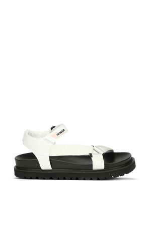 Flavia sandals in Black and White MONCLER