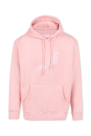 Washed Hoodie in Pink STAPLE