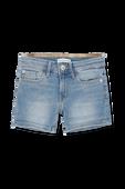 גילאי 4-16 מכנסי דנים קצרים