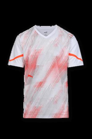 individual FLASH Shirt in White and Orange PUMA
