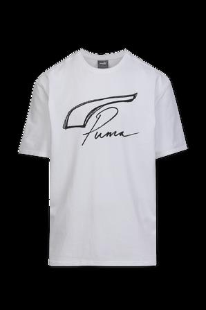 Puma X Rhuigi Tee in White PUMA