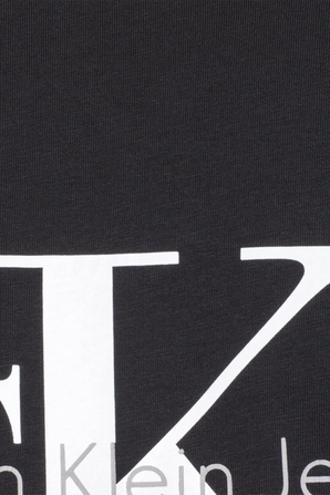 True Logo Tee in Washed Black CALVIN KLEIN
