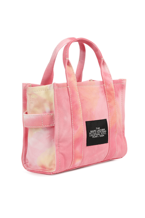 The Tie Dye Mini Tote Bag in Pink MARC JACOBS
