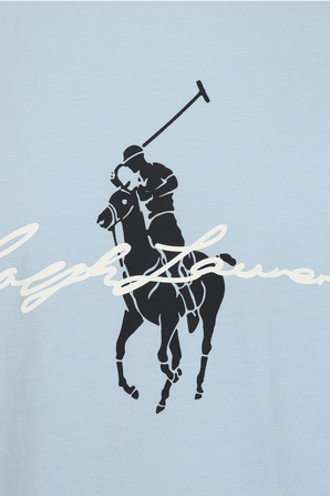 Horseman Logo T-Shirt in Navy POLO RALPH LAUREN