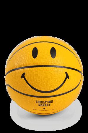 Yellow Smiley Basketball CHINATOWN MARKET