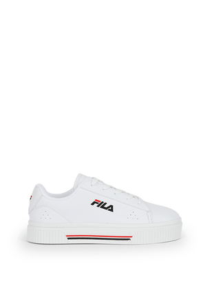 מידות 36-41 נעלי סניקרס לבנות עם לוגו רקום FILA
