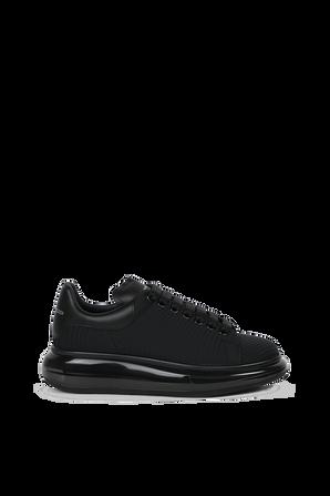 Oversized Sneakers in Black ALEXANDER MCQUEEN