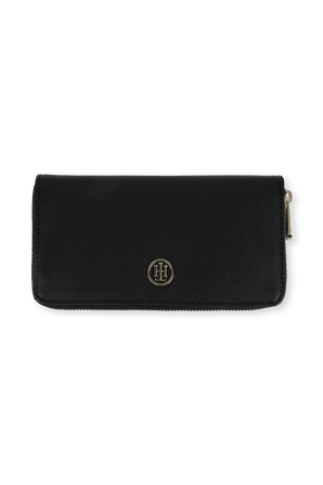 Honey Large Classic Wallet in Black TOMMY HILFIGER
