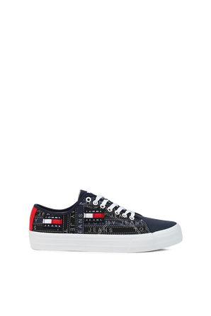 Badge Trainers in Jeans TOMMY HILFIGER