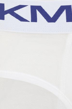 מארז שלישיית תחתונים עם לוגוטייפ בצבע לבן MICHAEL KORS