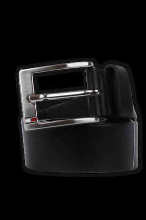 Leather Belt in Black TOMMY HILFIGER