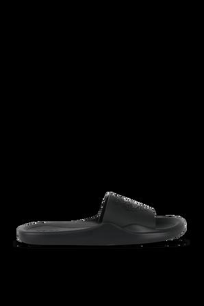 Tiger Pool flip-flops in Black KENZO