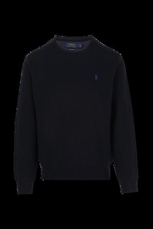 Crewneck Sweater in Navy POLO RALPH LAUREN