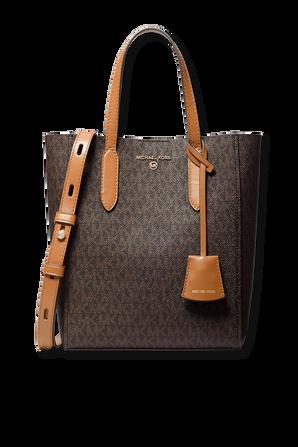 Sinclair Crossbody Bag in Brown Leather MICHAEL KORS