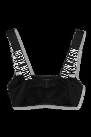 Intense Power - Bandeau Bikini Top in Black CALVIN KLEIN