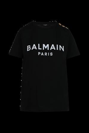 Balmain Slim Fit T-Shirt in Black BALMAIN