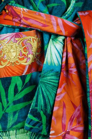 Jungle Print Bathrobe VERSACE