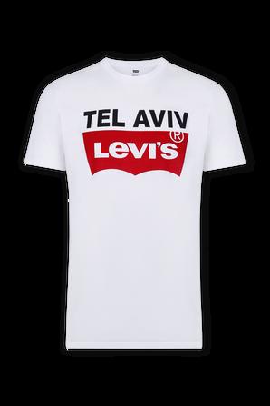 White TLV New Destination Tee LEVI`S
