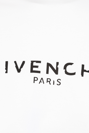 Vintage Givenchy Paris Slim fit Tee in White GIVENCHY
