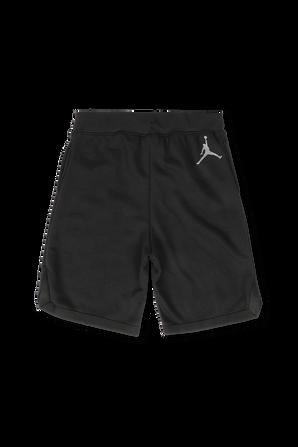 גילאי 8-16 מכנסי לוגו האיש הקופץ בשחור JORDAN