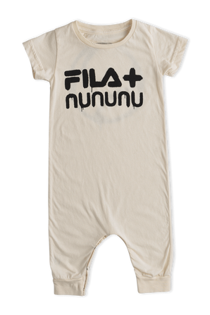 Fila x Nununu Ages NB-24 Months Tenniss Overall in Black FILA NUNUNU