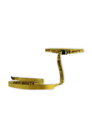 Off-White Mini Industrial belt in Yellow OFF WHITE