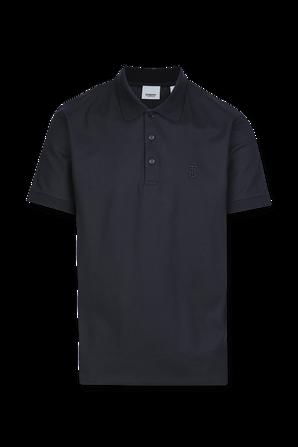 Logo Polo Shirt In Navy BURBERRY