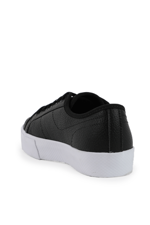 Ziane Plus Grand Leather Trainers in Black LACOSTE