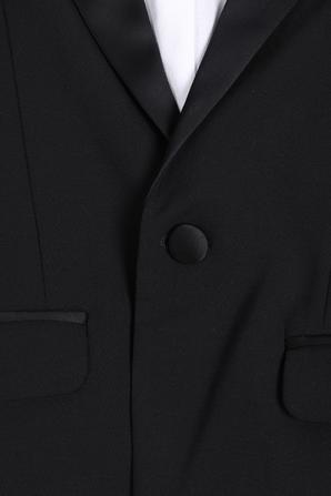 גילאי 4-16 זקט חליפה בשחור DSQUARED2 KIDS