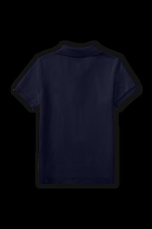 גילאי 2-4 חולצת פולו קלאסית קצרה בכחול נייבי POLO RALPH LAUREN KIDS