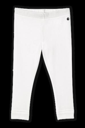 גילאי 3-12 חודשים מכנסי טייץ בלבן PETIT BATEAU