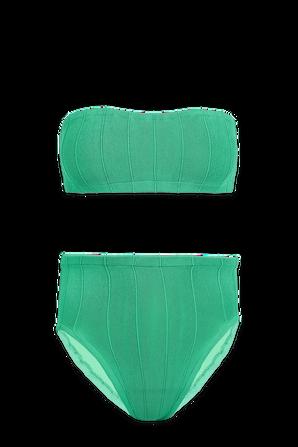 Edie Nile Bikini in Green HUNZA G