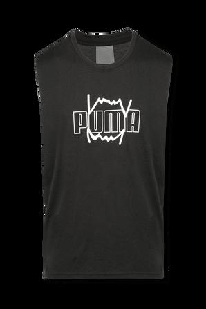 Triple Double Basketball Tank Top in Black PUMA