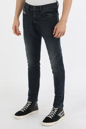 מכנסי סקיני ג'ינס בצבע אפור כהה  DIESEL