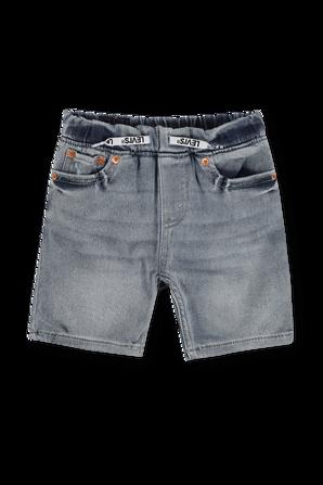 גילאי 8-16 מכנסי גינס קצרים בשטיפה קלאסית LEVI`S KIDS