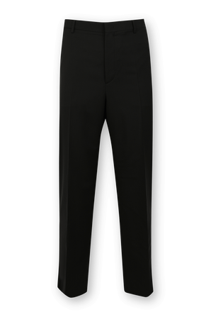Wool Jersey Pants in Black VALENTINO