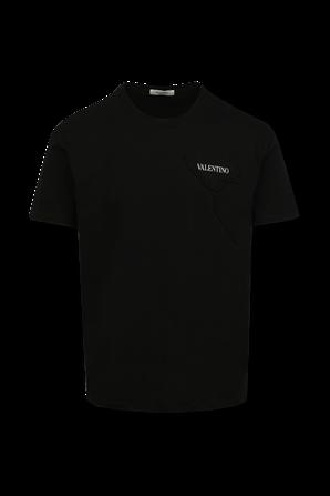 Valentino Classic Tshirt in Black VALENTINO