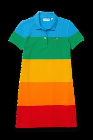 גילאי 2-12 חולצת פולו צבעונית LACOSTE KIDS