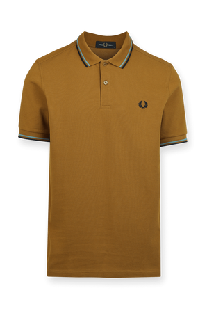 Polo Shirt in Brown FRED PERRY