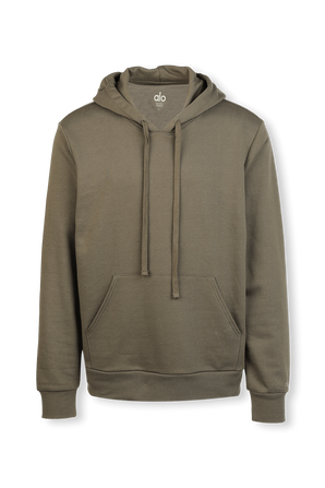 Caliber Hoodie in Olive Branch ALO YOGA