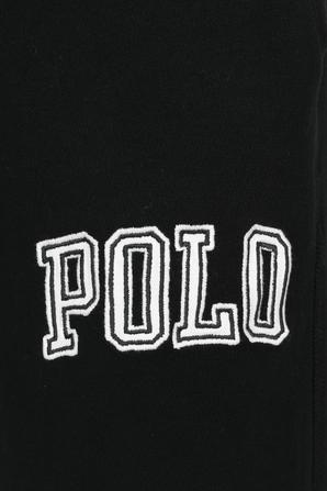 Logo Patch Jogger in Black POLO RALPH LAUREN