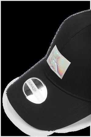 Cap Logo Hat in Black CALVIN KLEIN