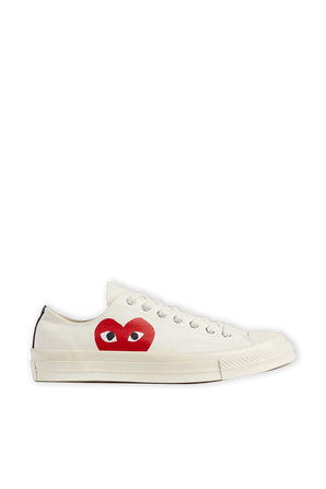 Play Converse Low Chuck Taylor in Beige COMME des GARCONS