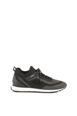 Sock Trainers In Black And Grey HUGO
