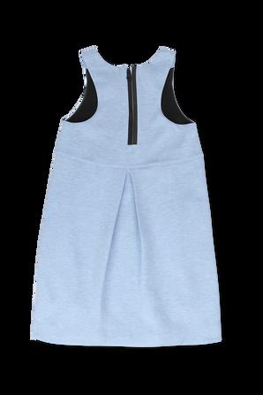 גילאי 4-6 שמלה עם לוגו בגוון תכלת NIKE